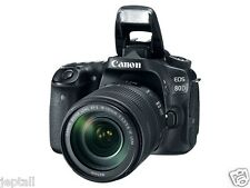 "Canon EOS 80D 18-135mm IS USM 24.2mp 3"" DSLR Digital Camera New Jeptall"