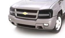 Headlight Lens Covers Pair Dark Smoke Tinted 2005-2010 Toyota Tacoma AVS 37534
