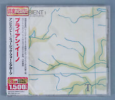 New Brian Eno ‎– Ambient 1 (Music For Airports) Japan Promo CD w/ Obi TOCP-54179