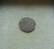 SIGISMUND King of Hungary(1387-1437)Silver Denarius Transylvania Timisoara!