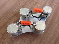 Gibson 300k Linear Taper Pots Les Paul 50's Wiring .047 Orange Drop Epiphone
