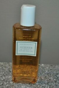Crabtree & Evelyn Summer Hill Bath & Shower Gel 6.8 oz New