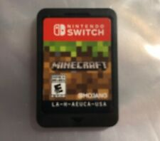 Minecraft, Nintendo Switch  Fast Free Ship Great Gift Game Only Clean