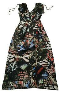 Paul Smith Ladies Multi colour Dress - 42 / 52 UK 10 - 95% Silk  5% Elastene