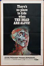 THE DEAD ARE ALIVE '72****REDUCED 50% *** 27X41 HORROR MOVIE POSTER- CRISPINO
