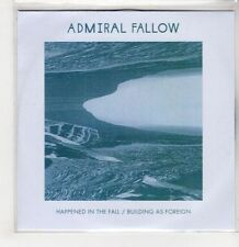 (GS675) Admiral Fallow, Happened In The Fall - DJ CD