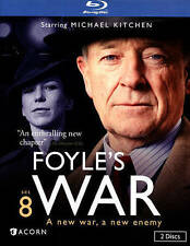 Foyles War: Set 8 (Blu-ray Disc, 2015, 2-Disc) MINT High Castle  Trespass  Elise
