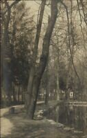 Clifton Springs NY c1910 Real Photo Postcard