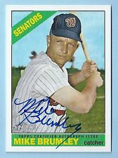 MIKE BRUMLEY 2015 TOPPS HERITAGE REAL ONE SIGNATURE AUTOGRAPH AUTO