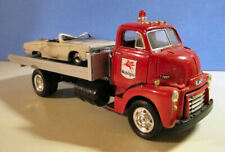 FIRST GEAR 1/34 1952 GMC MOBIL OIL  CUSTOM RAMP TRUCK WITH WRECK