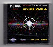 (JM977) Cybertracks Ltd NVRCD 810: Explora, Space-Time - Sealed CD