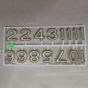 Wall Clock Luminous Numbers DIY Repair Replace Parts Glow In The Dark Home Decor