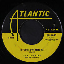 RAY CHARLES: It Should've Been Me / Sinner's Prayer 45 (tiny label tear)