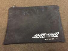Santa Cruz Skateboard salesman literature dealer pack zipper bag