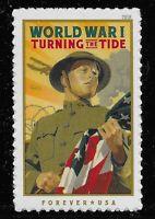 US Scott #5300, Single 2019 World War I VF MNH