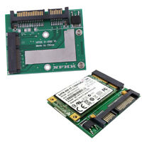 mSATA SSD to 2.5'' SATA 6.0gps adapter converter card module board mini DRXI SH