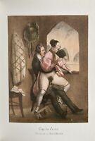 Erotic Opera Sex Penis Theatre Vagina Erotik Antique Love Art Lithography 1840