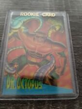 Fleer Ultra Spiderman Clear Chrome 1 Of 10 Dr Octopus Card