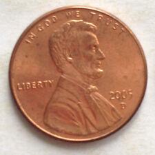 USA 1 Cent coin 2005
