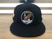 New Era 59Fifty Houston Astros Apollo 11 NASA Flat Bill Baseball Hat Navy Blue