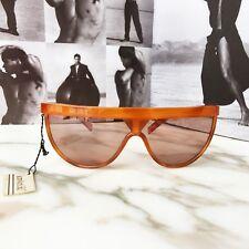 "GIANNI VERSACE 80"" brown sunglasses METRICS with original case"