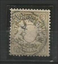 Gestempelte Altsignatur-Briefmarken aus Bayern (bis 1914) altdeutschen