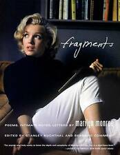 NEW Fragments: Poems, Intimate Notes, Letters by Marilyn Monroe