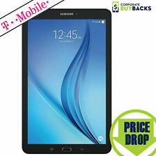 "Samsung Galaxy Tab E 8"" T377T 16GB, WiFi 4G T-Mobile GSM Tablet Black, Cond 8/10"