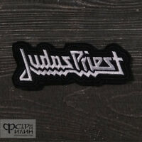 """Judas Priest~Patch~Embroidered~3 3//4/"""" x 2 1//2/""""~Iron or Sew on~Heavy Metal Rock"""