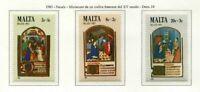 37548) Malta 1983 MNH Christmas 3v