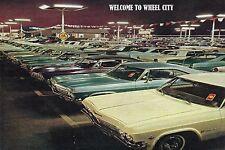 1965 IMPALA POSTER 24 x 36 INCH | CAR LOT  | COOL!