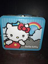 HELLO KITTY METAL LUNCH BOX BLUE