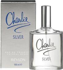 Charlie Silver de Revlon pour femme Eau de Toilette 100ml  +1 Échantillon