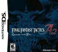 Final Fantasy Tactics A2: Grimoire Of The Rift DS Game Only
