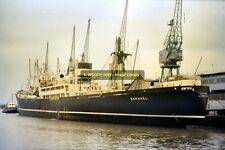 mc2698 - Lamport & Holt Cargo Ship - Raphael - photo 6x4
