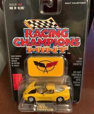 Racing Champions Mint 1997 Chevy Corvette #84 Yellow