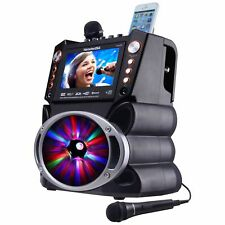 Karaoke USA GF839 Portable-Learn to Sing at Home-System