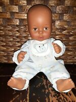 """Cititoy BABY DOLL 12"""" Play Open/Close Eyes Vinyl Plastic Body Drink Wet 1996"""