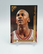 Michael Jordan 1995-96 Topps Gallery # 10 Masters Chicago Bulls Basketball Card
