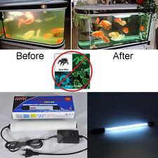 Aquarium UV Steriliser Lamp Pond Koi Fish Tank Filter Pump Light Water Clarifier