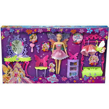 FAIRY PRINCESS DOLL PLAY SET WITH ACCESSORIES DRESS UP GIRLS GIFT TOY FASHION