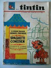 >Journal de Tintin N°916 du 12/5/1966  Enquête maquette