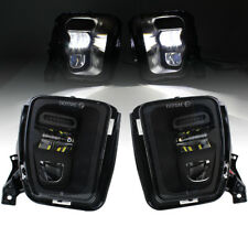 Pair Bumper LED Fog Lights for Dodge Ram 1500 2013 2014 2015 2016 2017 2018