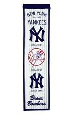 New York Yankees Heritage Banner Wool Retro Banner FREE SHIPPING