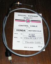 Honda CB450 Black Bomber Upper throttle Cable CL450 CL450D New