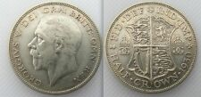 Scarce Collectable 1930 (0.500 Silver) Half-Crown Coin Of King George V