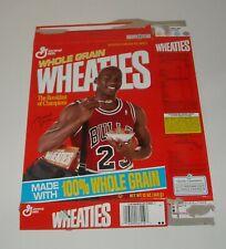 1992 GENERAL MILLS WHEATIES CEREAL BOX FLAT 12 oz. SIZE MICHAEL JORDAN COVER