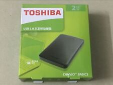 Toshiba 2TB USB3.0 Portable External Hard Disk Drive Toshiba Canvio Basics Black