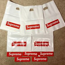 !EXCLUSIVE OFFER! x5 Supreme Plastic Shopping Bag AND x5 Supreme Stickers