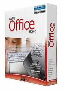 Ability Office Home Version 5 V5 Genuine Windows MS Microsoft Office Compatible
